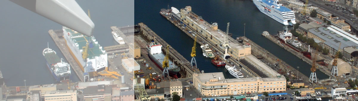 Zincaf Genoa Port Drydocks Shiprepair